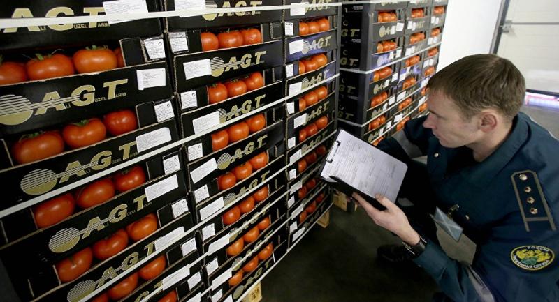 Россельхознадзор намерен ознакомиться с процессом отгрузки продукции из ЕС
