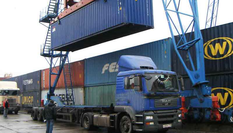 Темпы падения контейнерооборота портов РФ замедлились до 2,6% с начала года